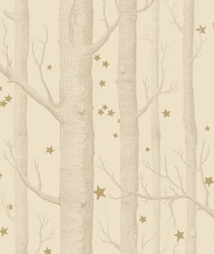 Woods and Stars Wallpaper