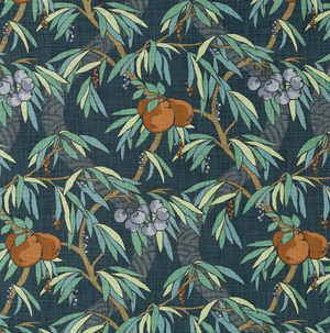 Nouveau Fruit Fabric