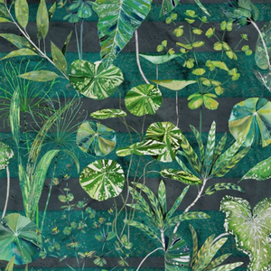 Arjuna Leaf Viridian Fabric Swatch