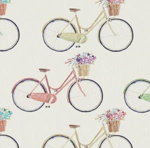 Country Cycles Fabric