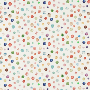 Country Buttons Fabric
