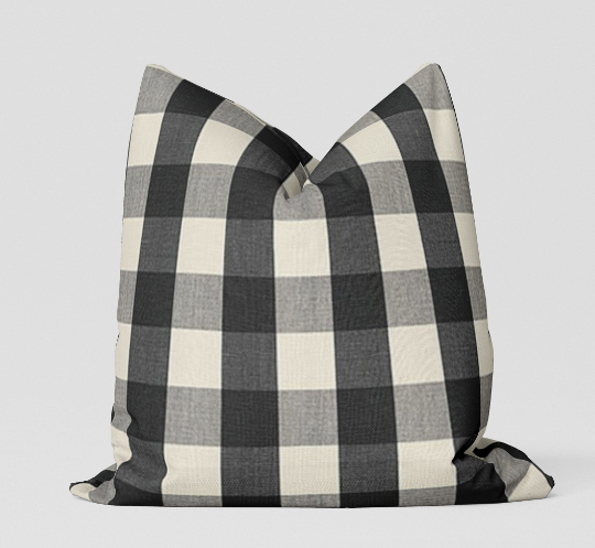Camden Check Pillow