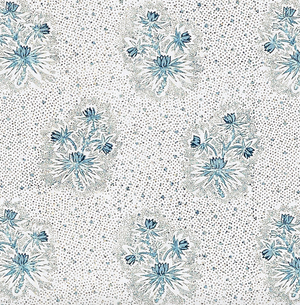 Cassis Floral Fabric