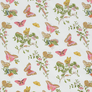 Baudin Butterfly Chintz Fabric