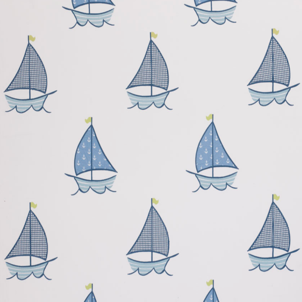 Sailing Boats Fabric