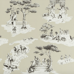 Harlem Toile Wallpaper