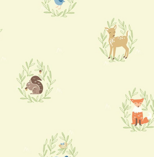 Furry Friends Wallpaper