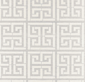 Greek Key Sisal Wallpaper