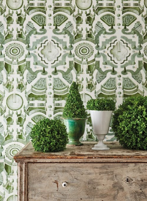 Topiary Wallpaper