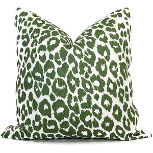 Iconic Leopard Pillow