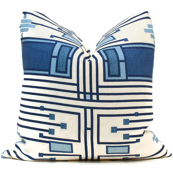 Frank Lloyd Wright Design 105 Pillow Cover