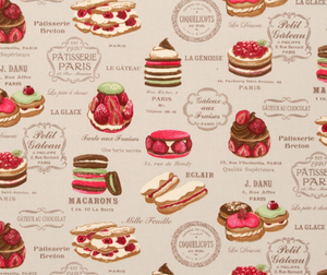 Patisserie Fun Fabric