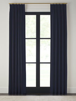 Villa Velvet Pinch Pleated Drapes