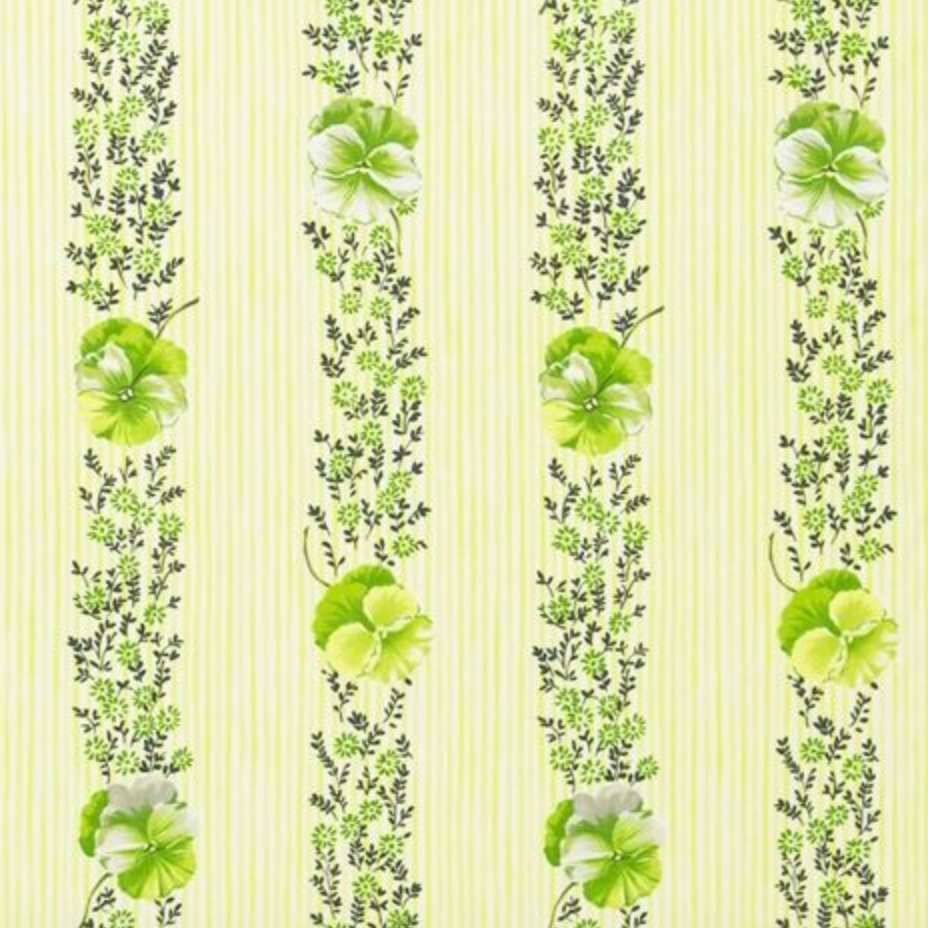 Pansy Stripe Fabric