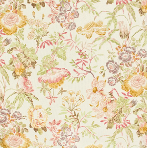 Panne Floral Fabric