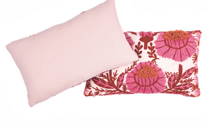 Marguerite Embroidered Pillow