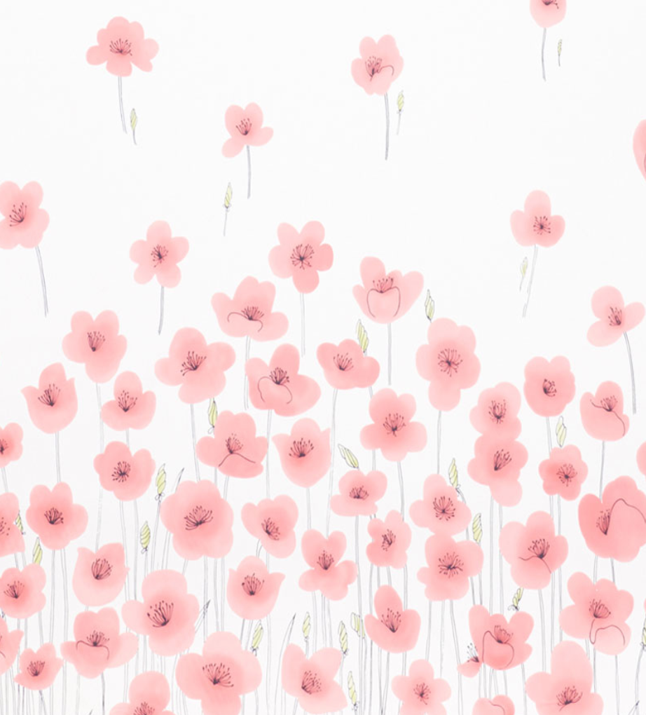 Wild Poppies Fabric