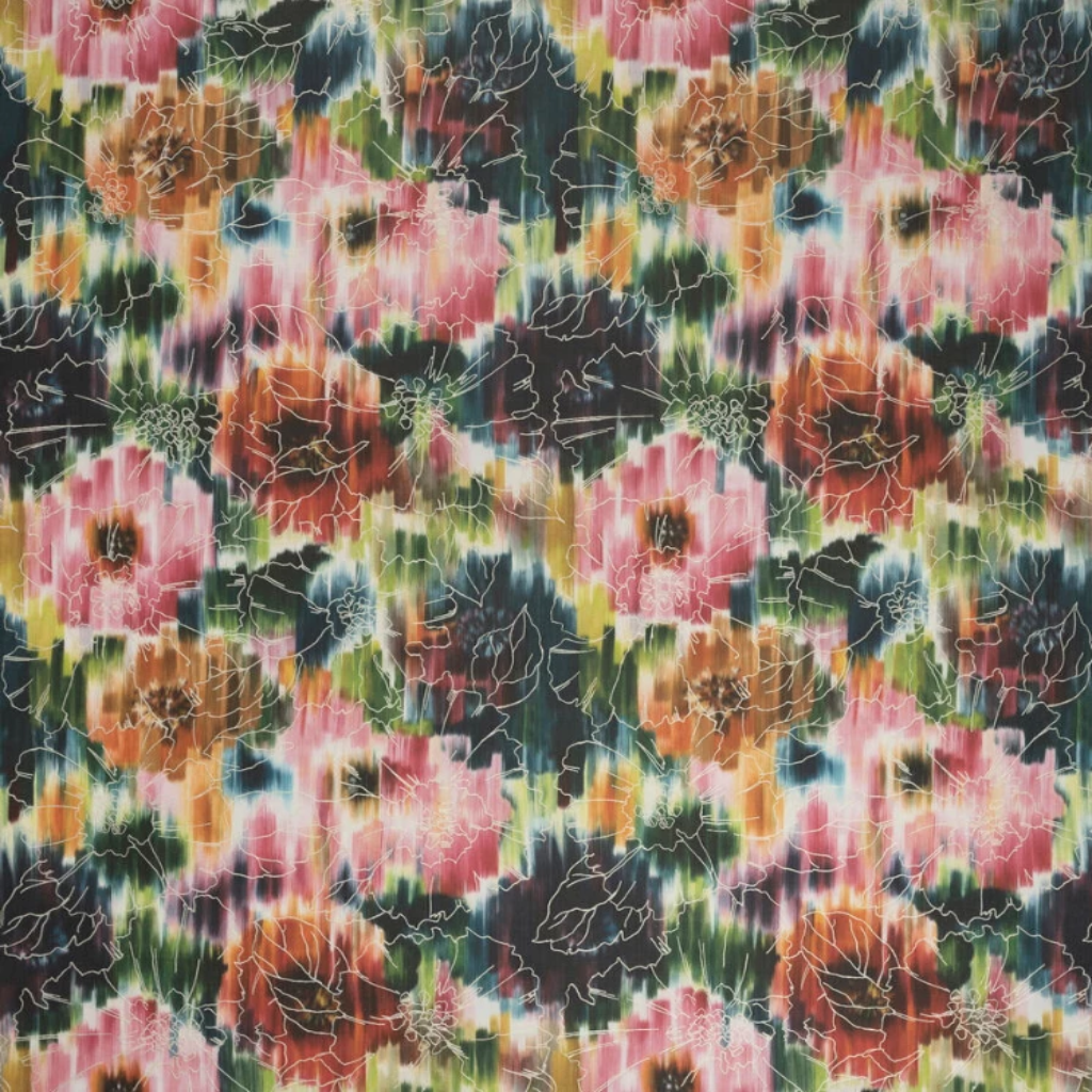 Floral Illusion Fabric