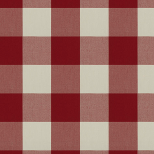 Camping Check Indoor/Outdoor Fabric