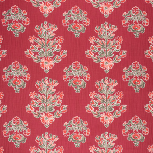 AE Medallion Block Floral Print Fabric