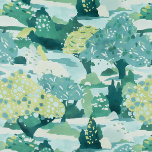 Flame Tree Fabric
