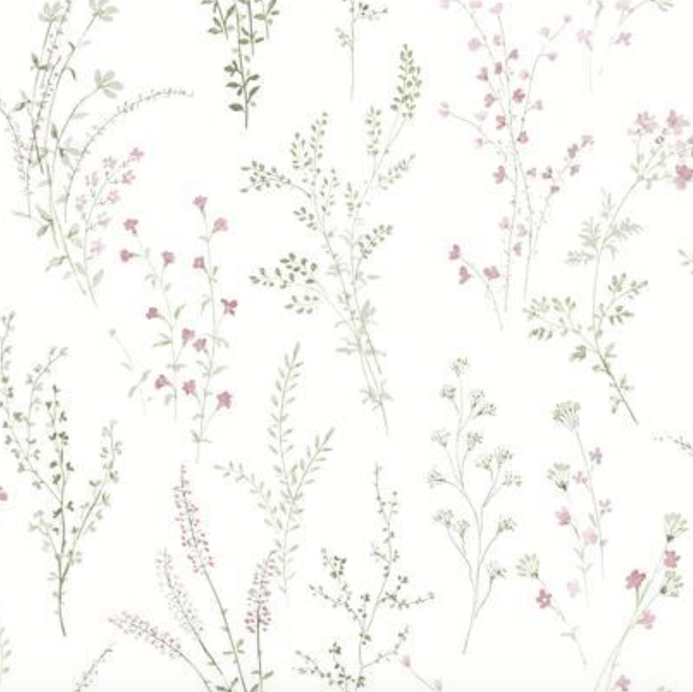 Wildflower Sprigs Wallpaper