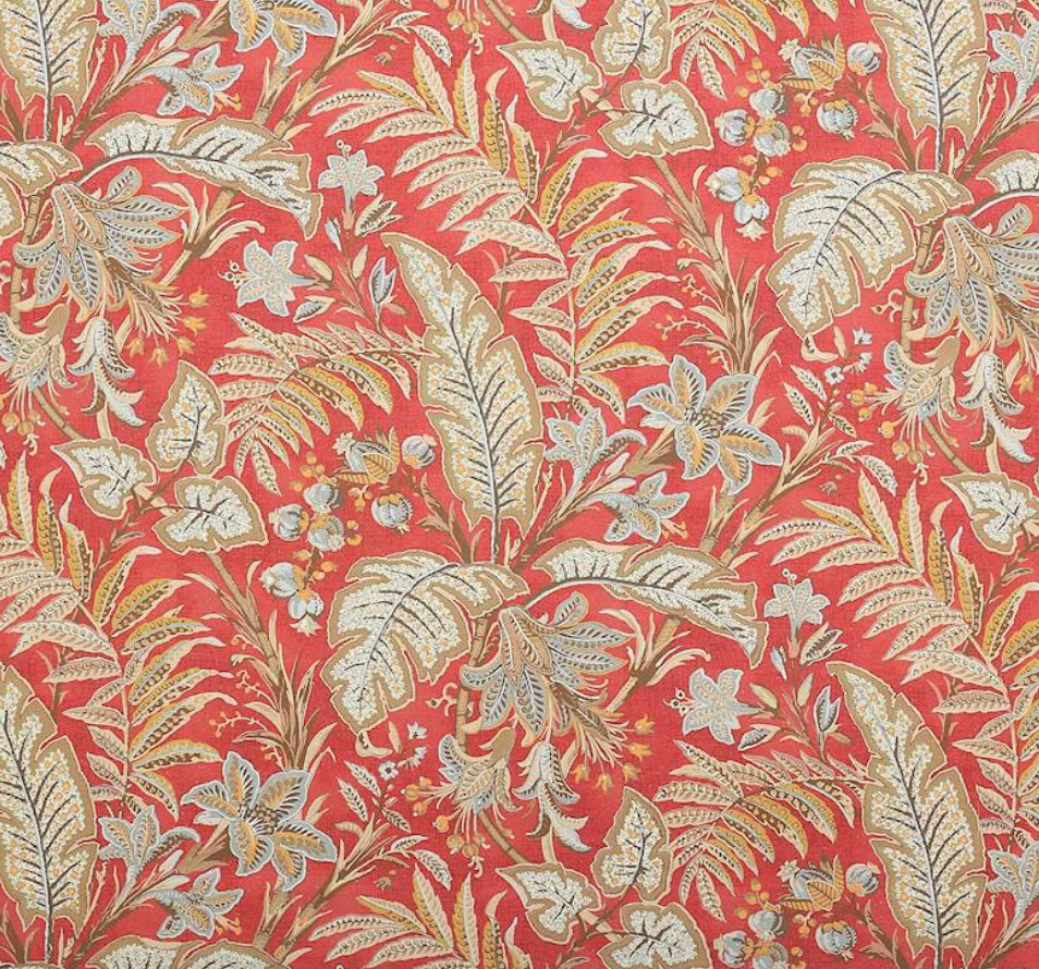 Paisley Leaf Fabric