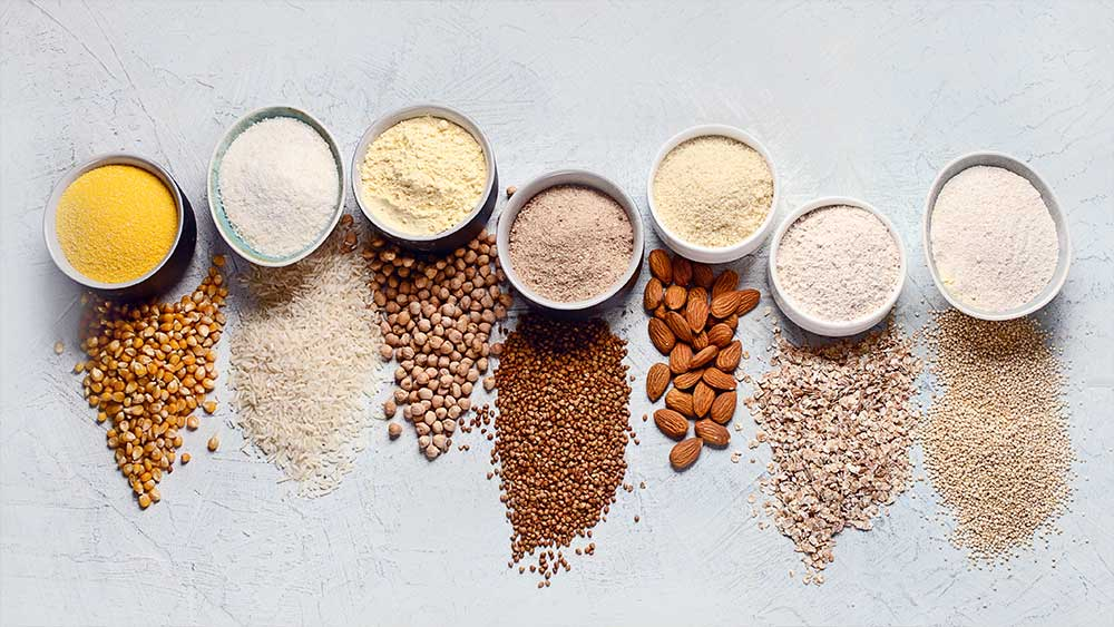 A picture of many differing types of proteins.