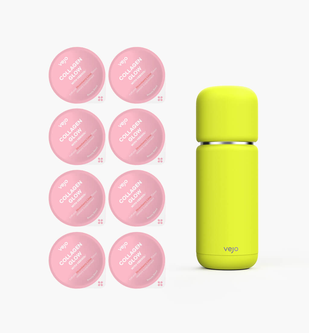 Collagen Starter Kit - Neon Yellow