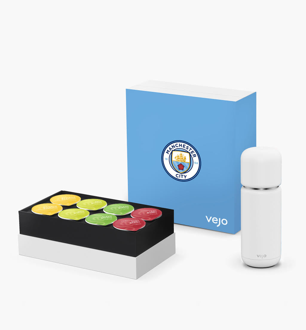 Manchester City x Vejo Starter Kit | Chalk White
