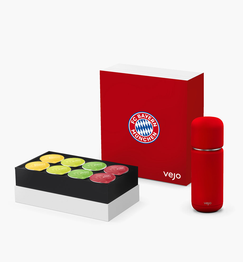 FC Bayern Munich x Vejo Starter Kit – Limited Edition | Vejo Portable Blender