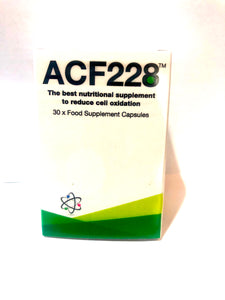 ACF228, Patented Optimal Free Radical Scavenger by Dr. Richard Lippman, $34.95 per bottle/30 tablets