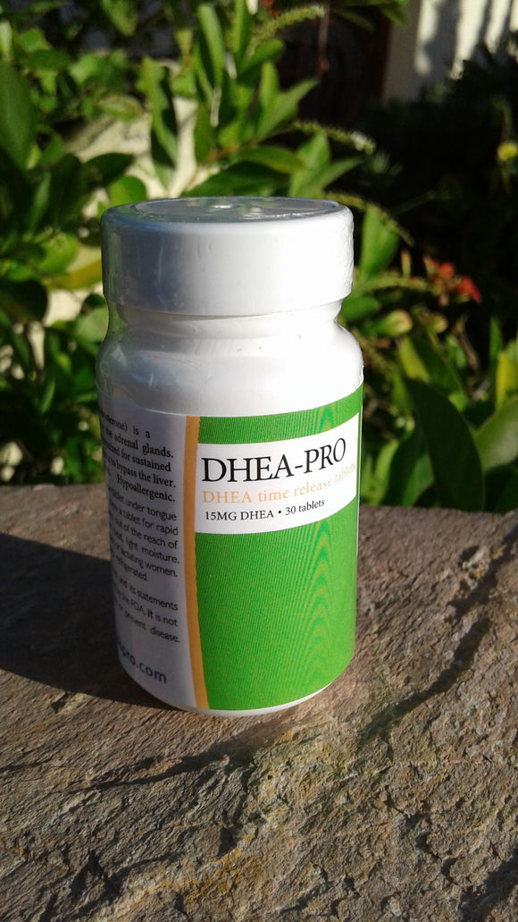 DHEA 15mg time-release tablets for early morning energy! Wholesale price $18/bottle