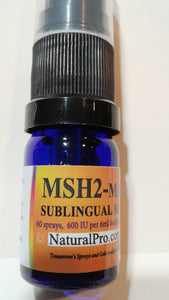 MSH2-Max, a homeopathic amino acid great for improved skin health. $39.50 wholesale, 40% off retail.