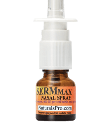 Sermorelin or SermMax Nasal Spray, an amino acid chain that naturally boosts pituitary function with sermorelin and sermpro.