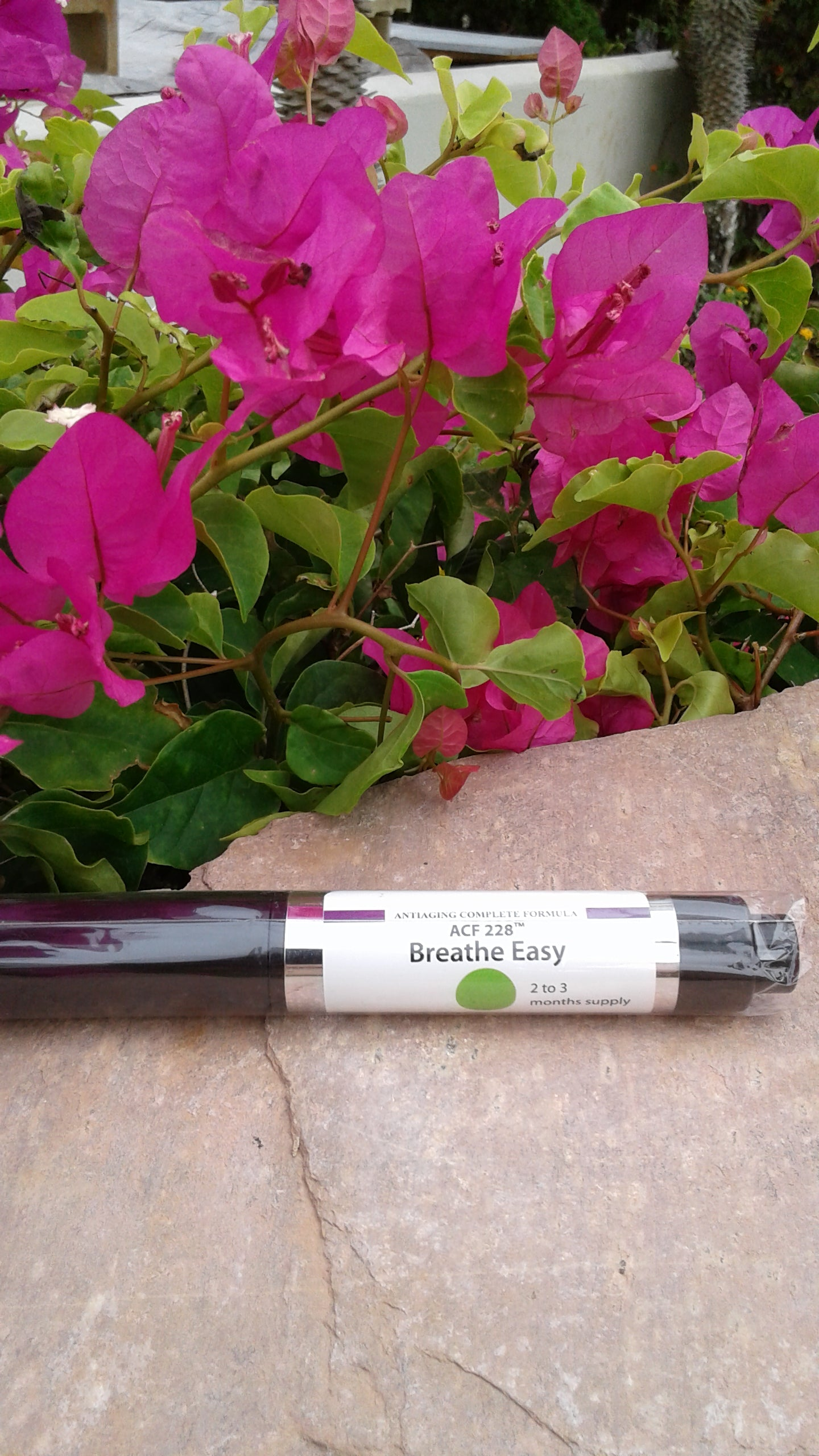 Breathe Easy tube inhaler for respiratory problems by preventing free radicals. Wholesale at $119