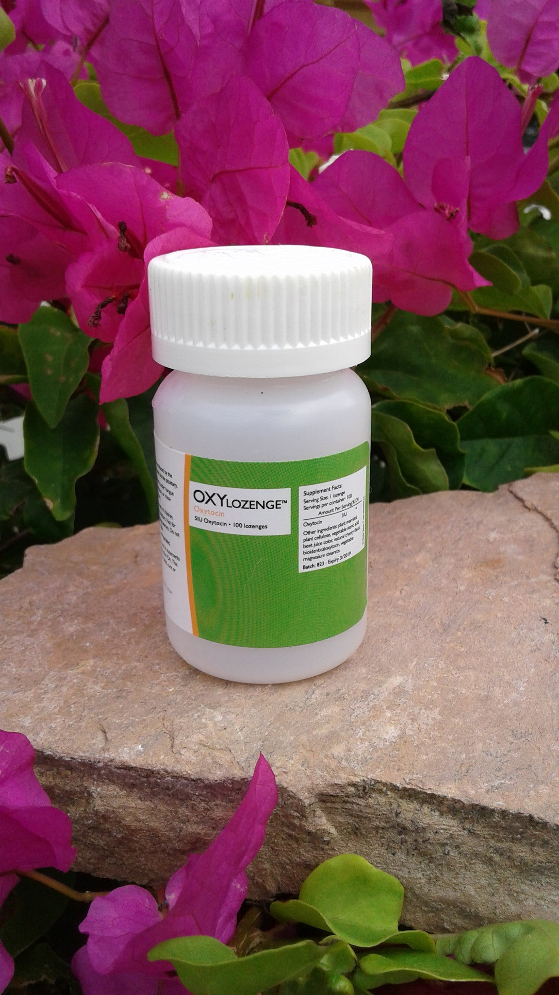 OxyLozenge, the Bonding & Love Amino Acid in a Tablet, Wholesale Price: $50 per bottle with a 5 bottle minimum order
