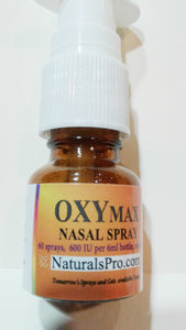 OxyMax Nasal Spray, the bonding & empathy amino acid homeopathic oxytocin, $39.50 wholesale, 50% off retail