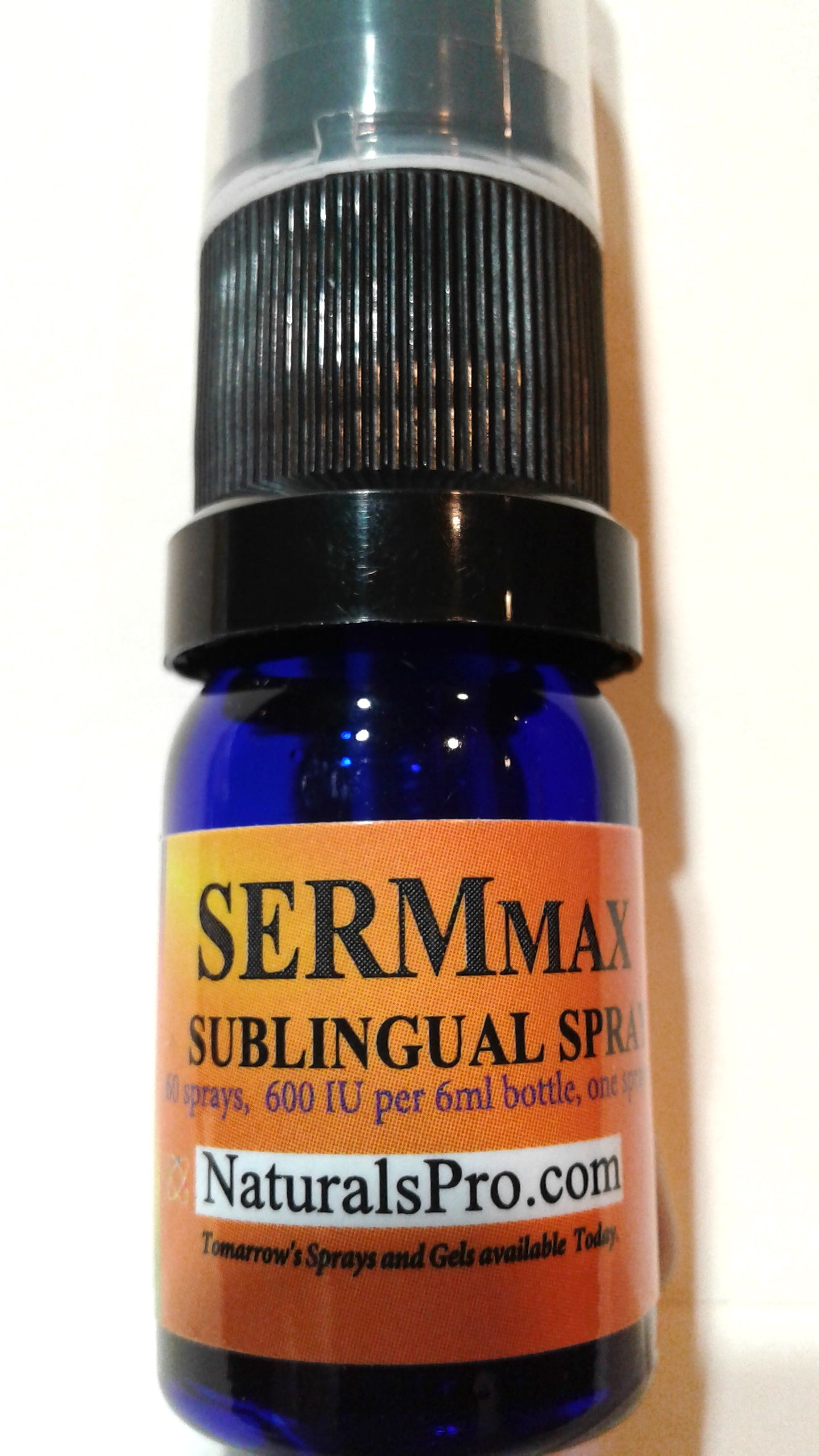 Sermorelin or SermMax Sublingual, an amino acid boosting pituitary and releasing HGH, $29.50 wholesale, 50% off retail.