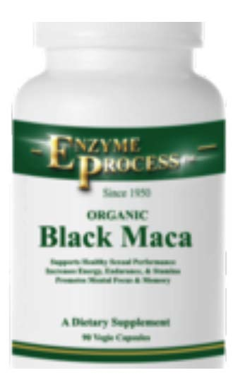 MacaMax, with organic 90 black Maca root capsules essential for improving stamina. $19.95
