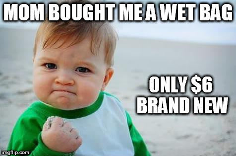 Brand new wet bags for only $6 - for cloth diapers