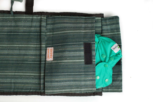 Fair-Trade Diaper Wallet