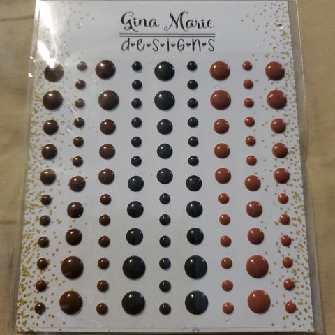 CHOCOLATE GLOSS ENAMEL SET - GINA MARIE DESIGNS
