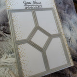 A2 QUILTED PANEL DIE - Gina Marie Designs