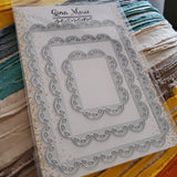 THICK STITCH RECTANGLE DIE SET - GINA MARIE DESIGNS