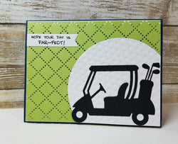 GOLF CART DIE - Gina Marie Designs