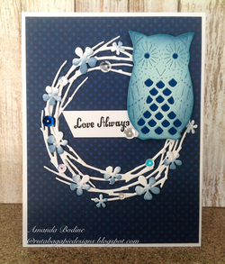 PATTERNED OWL DIE - GINA MARIE DESIGNS