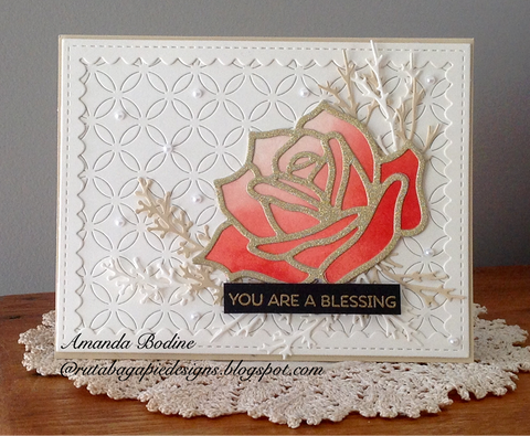 ROSE DIE - Gina Marie Designs
