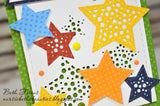 CUT IN CUT OUT STAR DIE SET - Gina Marie Designs