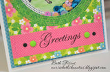 WATERMELON COLORS Enamel Dot Embellishments
